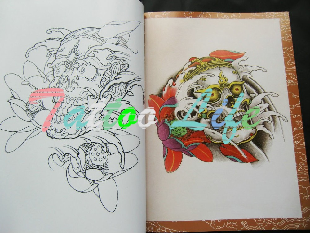 The oriental style tattoo flash sketch book skull hannya ghost the oriental style tattoo flash sketch book skull hannya ghost dragon koi snake tattoo reference designs 72 pages free shipping in tattoo accesories from fandeluxe Epub