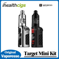 100 Original Vaporesso Target Mini Kit 40W VW VT 1400mAH Battery Built In With Guardian Tank