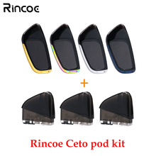 Original Rincoe Ceto Vape Pod System All-in-one Starter Kit with 370mAh Battery 2ml Cartridge vs justfog c601 suorin air kit