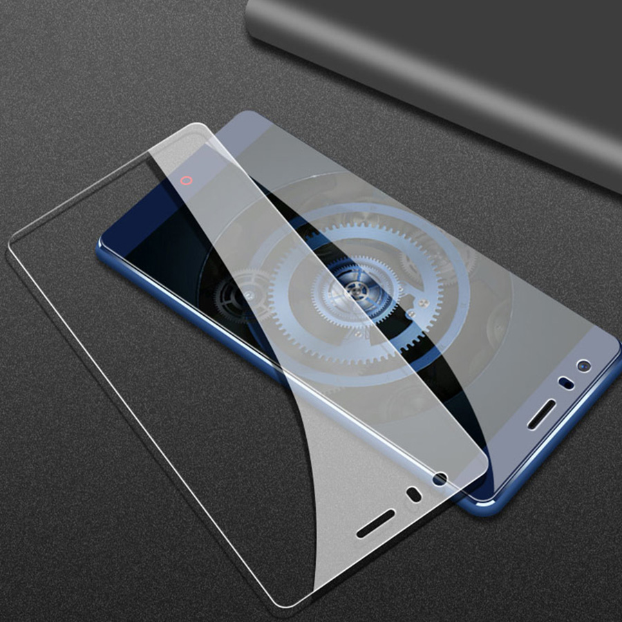 2.5D 9H Full Cover Tempered Glass For ZTE Nubia Z17 Z17 Lite Screen protective Film Case For ZTE Nubia Z 17 lite NX591J 5.5″