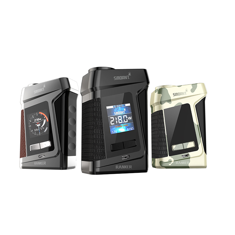 original Smoant Ranker 218W TC Box MOD electronic cigarette mod adopt Ant218 V2 chipset VS SMOK MAG Mod box mod ruru15070 to 218