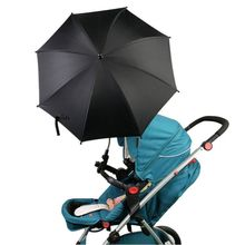 Stroller Accessories Infant Baby Umbrella Portable Pram Sun Rain Parasol Wheelchair Pushchair Adjustable Fold Unbralla