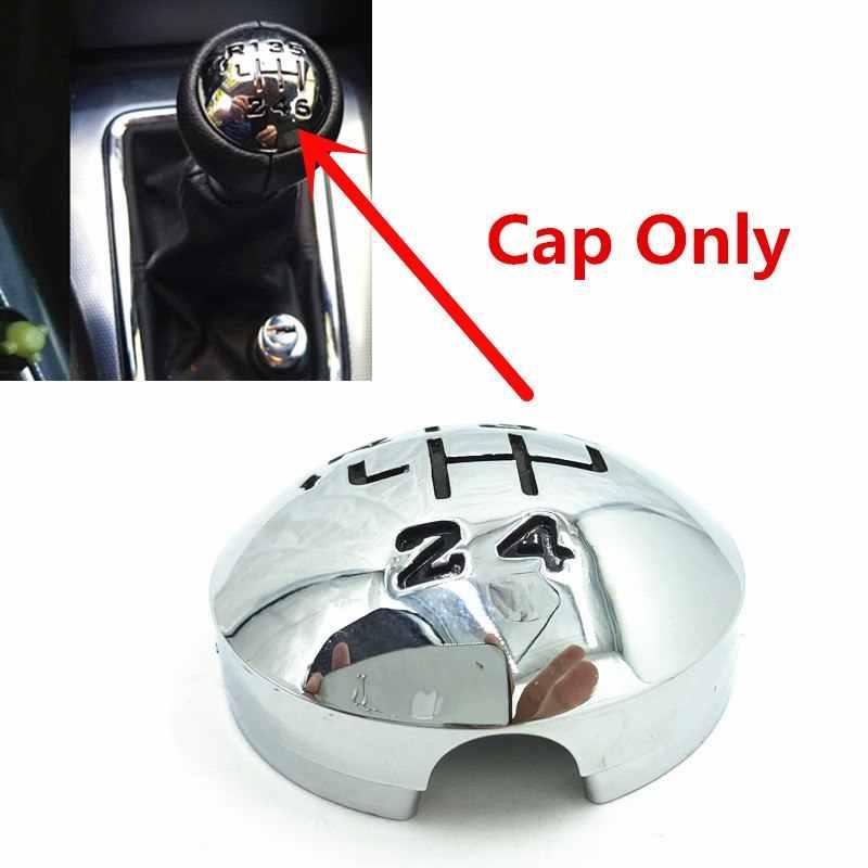 Gear SHIFT KNOB COVER Emblem Badge สำหรับ Citroen C3 (A51) c4 C4 Picasso C8 B9 Peugeot 307,308,3008,407,5008,807 คู่