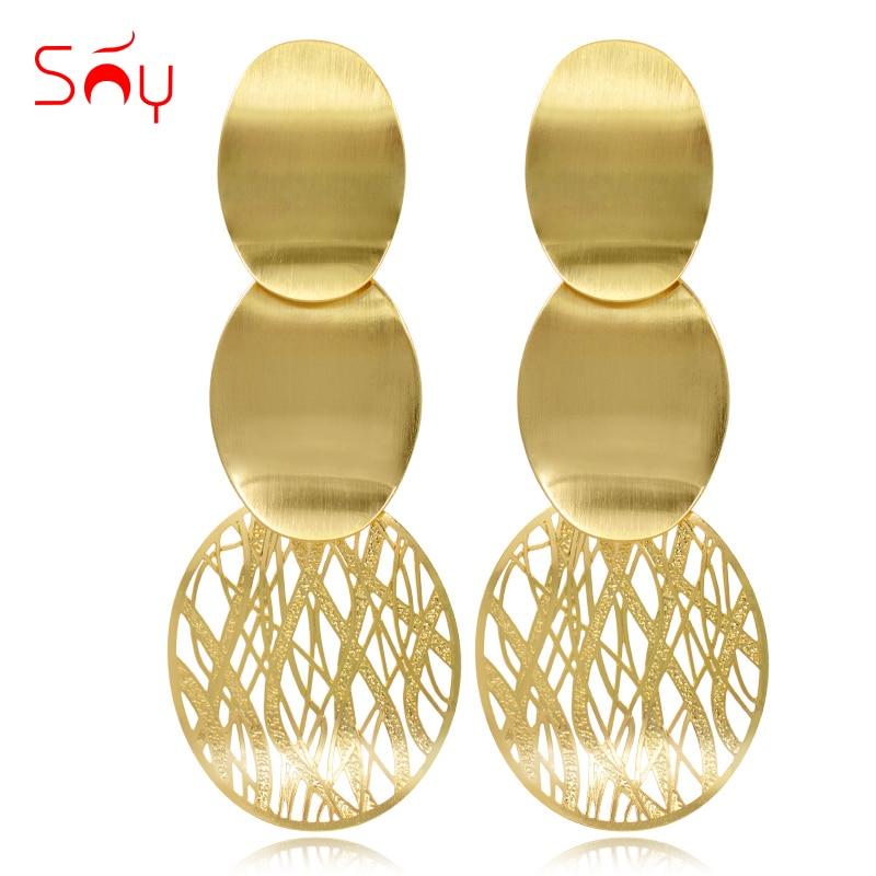 Napos ékszerek Drop fülbevaló nőknek hosszú fülbevalók Nagy fülbevaló 2019 Anyák napja ajándék divat Női ékszerek Party Esküvő