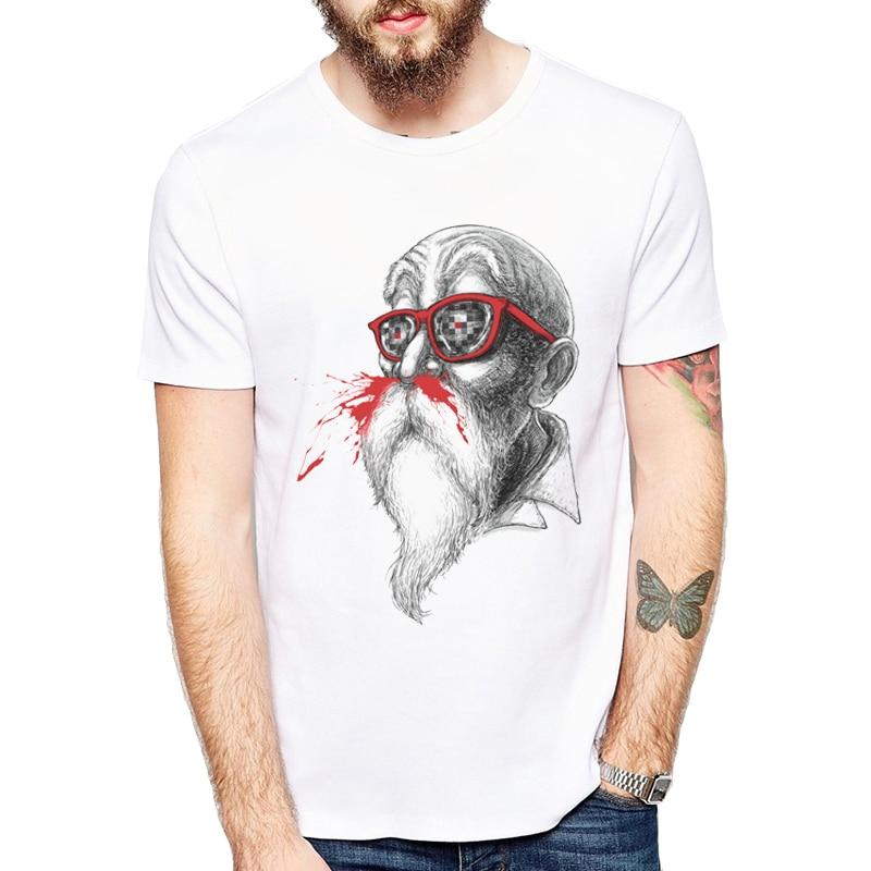 2019 Summer Men Dragon Ball Z TShirt Newest Fashion Grandmaster Hobbies Design T-Shirt Is Funny Short Sleeve Tops Cool Male Tee