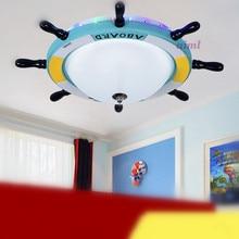 LED Bedroom of children room 21w-30w Mediterranean helmsman remote colorful color droplight 220v -240v  @-9