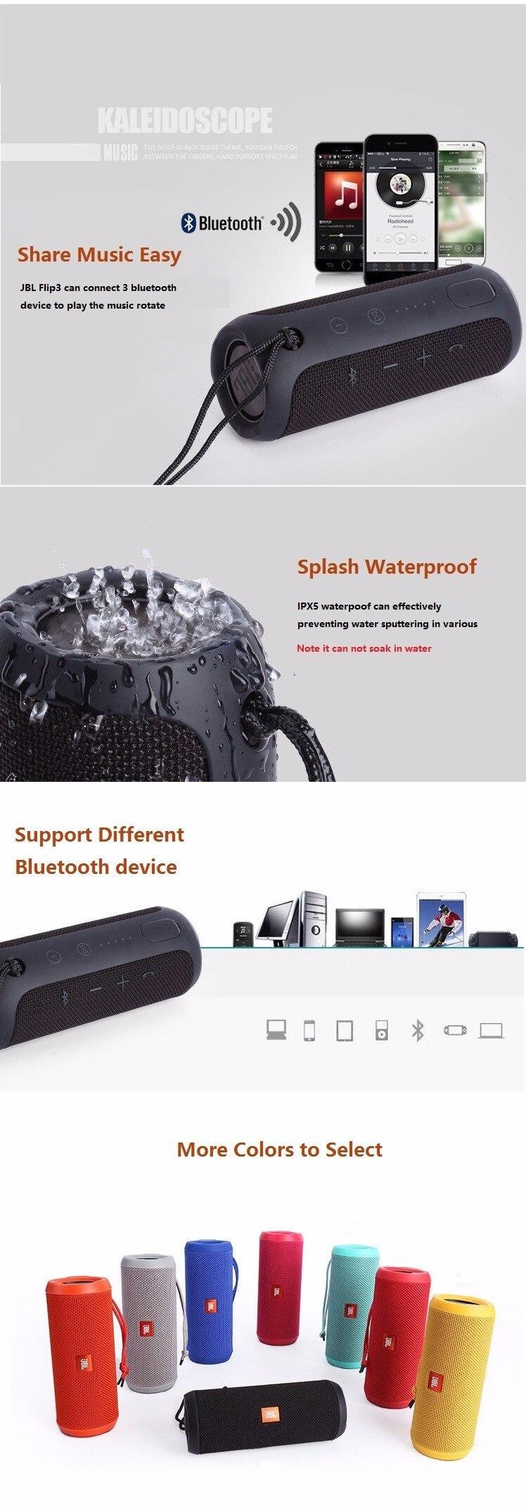 JBL FLIP 3 Wireless portable speaker 3
