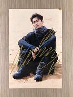 Podpisano KRIS Wu Yifan autografem oryginalny zdjęcie 6 cali freeshipping 06201705