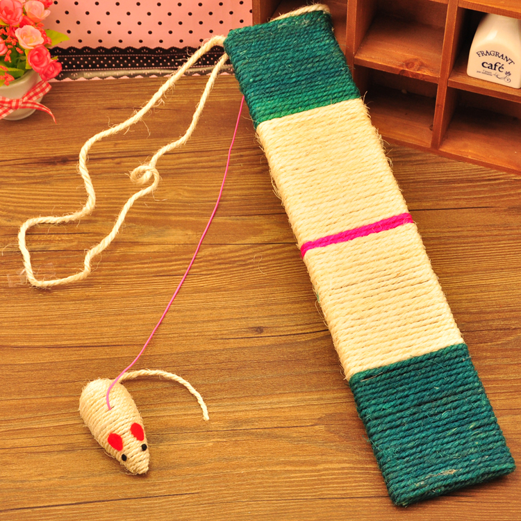Pet Supplies Cat Toy Natural Sisal Rope Cat Scratch Board