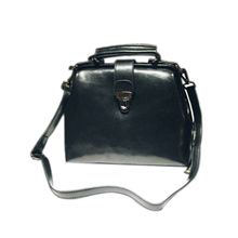 2017 Real Leather Packet Shoulder Messenger Bag Chain Retro Doctor Bag Shell Mini Leather Handbag