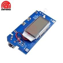 Два порта USB 5V 1A 2.1A мобильный Мощность банка 18650 Батарея зарядный модуль Плата, PCB для телефона ЖК-дисплей Дисплей DIY KIT с светильник