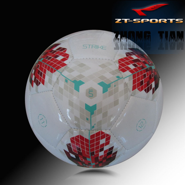 Free shipping EPL offical Size 5 match football soccer ball TPU material free with ball net/mesh