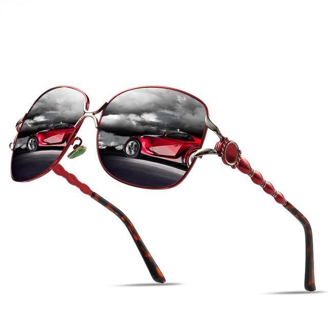 3732bcb69c Steampunk gafas polarizadas Carter gafas de sol marca de lujo Lunette  mujeres gafas de sol rayos