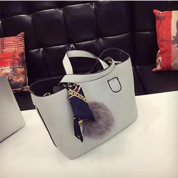 Fashion Soft PU Leather Women Handbag Two Pieces Female Shoulder Bag Girls Messenger bag Casual lady date Burgundy/Black Bag - DISCOUNT ITEM  27 OFF Luggage & Bags