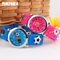 Skmei Quartz Children Watch Brand Fashion Casual Kids Watches Wristwatches Waterproof Jelly Clock Boys Girls Students