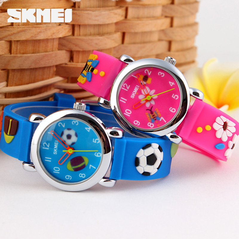 Skmei Quartz Children Watch Brand Fashion Casual Kids Watches Wristwatches Waterproof Jelly Clock Boys Girls Students Wristwatch splendid brand new boys girls students time clock electronic digital lcd wrist sport watch