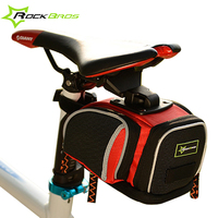 ROCKBROS Bike Bag Waterproof Cover Cycling Saddle Bag Mountain Bike Accessories Rear Tail Seat Nylon Bicycle