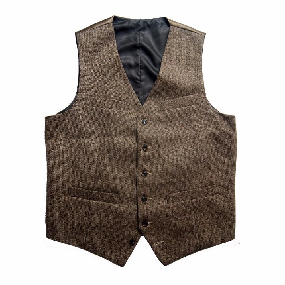 Tweed Vests