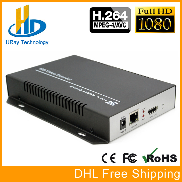 URay H264 /H.264 /H 264 HDMI Encoder HDMI To IP Streaming Video Encoder Decoder RTMP UDP HLS RTSP For IPTV, Live Broadcast uray 4g lte 1080p wireless hdmi to ip video encoder h 264 hdmi streaming encoder h264 hdmi rtmp udp encoder wifi for live iptv