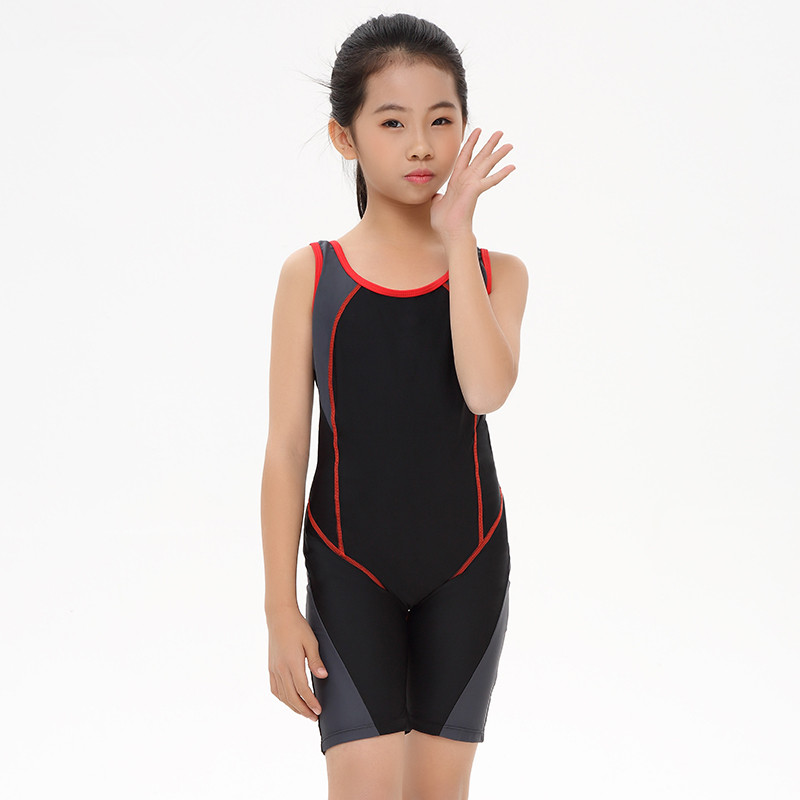 Children Swimming Clothes 2017 Girls Sports Swimsuit One ...
