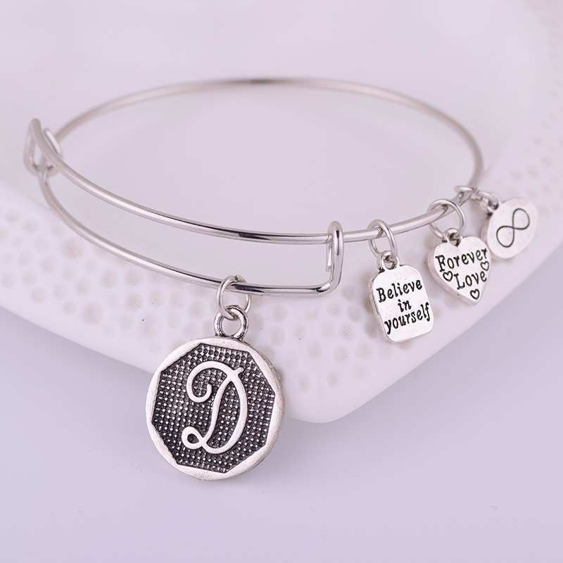 initial expandable charm z item a american from bangles alphabet cuff in ancient women bracelets adjustable bracelet bangle letter jewelry wrap wire silver