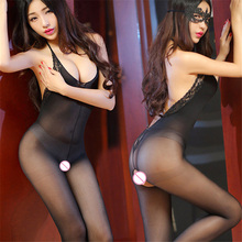 Sexy Teddy Lingerie Hot Backless Open Crotch Babydolls Erotic Lingerie Transparent Sexy Underwear Costumes Sex Products