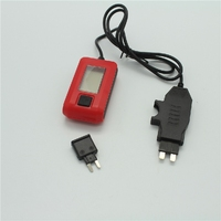19 AE150 Car Truck Current Detector Fuse Current Tester Measuring Range 0.01A-19.99A (2)