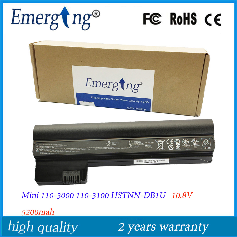 10.8V 5200Mah Japanese Cell New Laptop Battery for HP MINI 110-3000 MINI110-3000 CQ10 E04C TY06 HSTNN-CB1U DB1U замена абсолютно новый аккумулятор для ноутбука hp compaq mini cq10 100eb mini cq10 100er mini cq10 100ek mini cq10 100so