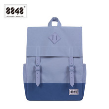 8848 Brand Backpack Backpacking Men Women Shoulder Bag Pattern Solid Laptop Hot Sale Resistant Oxford  Wight Single 173-002-009