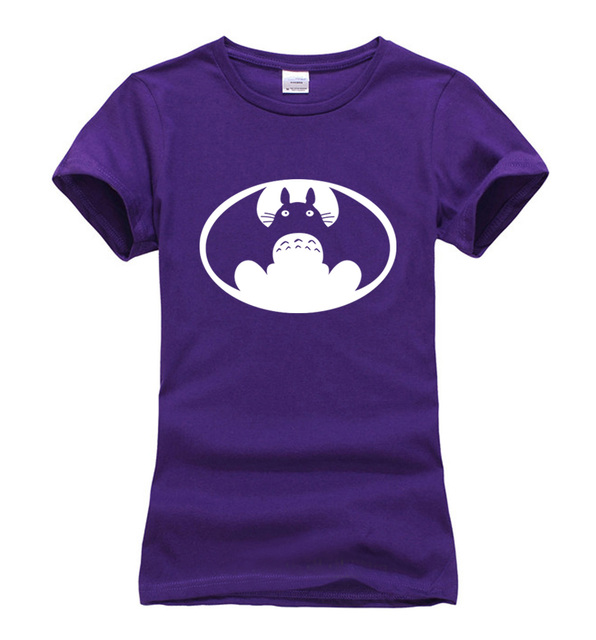 Funny Totoro Batman T-Shirt (18 Colors)