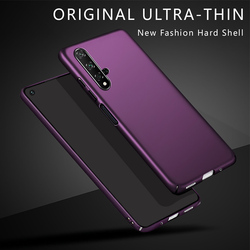 Case For Huawei Nova 5T Phone Case Thin PC Hard Plastic Back Cover for Huawei Nova 5T 5 T YAL-L21 Nova5T Full Cover Bumper 6.26