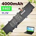 4000 mAH 11.1 V batería Para Asus S300 S400 VivoBook S400C S400CA S400E C21-X402 X402 X402C X402CA series