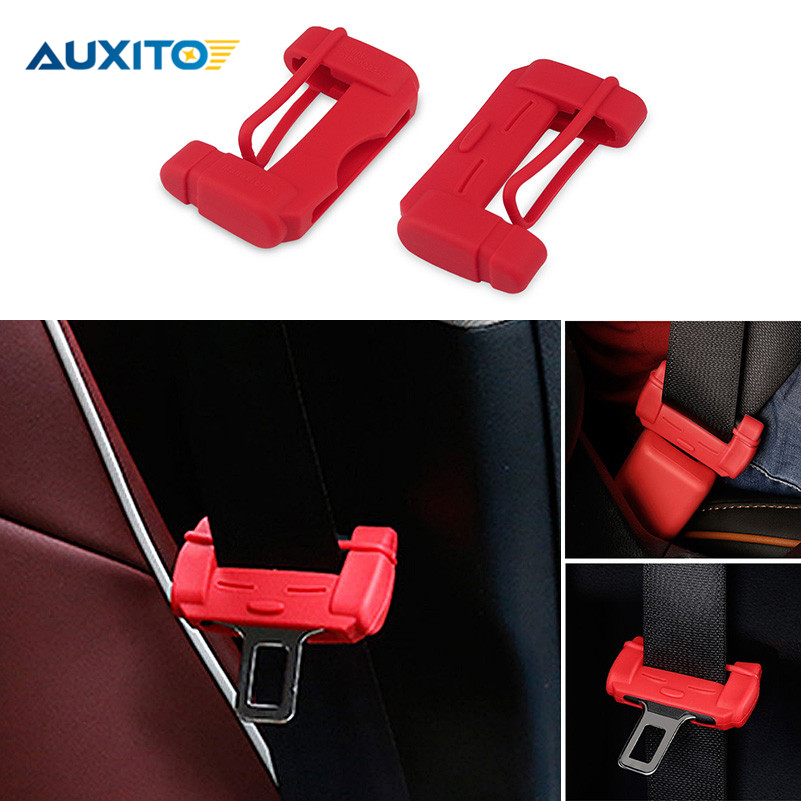 2017 2pcs New Car Seat Belt Buckle Covers For Kia Rio K2 Ceed Sportage Sorento Cerato Soul Picanto Optima K3 Spectra K2K3K4K5 custom fit car floor mats for kia rio k2 spectra cerato forte k5 optima k3 kx3 sportage kx5 sorento 3d car styling carpet liners