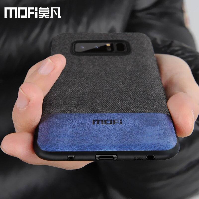 MOFi caso original para Samsung S8 tampa traseira para samsung galaxy nota 8 capa de silicone borda coque capas para galaxy note8 s8 + caso