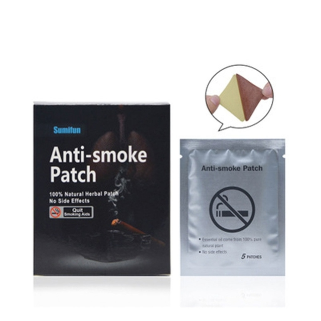35pcs Natural Ingredient Nicotine Patches Stop Smoking Cessation Patch Health Care Tool