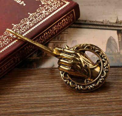 Игра престолов Песнь Льда и Огня брошь рука короля лацкан вдохновил аутентичный опорный значок Броши фильм ювелирные изделия