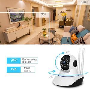 Image 2 - BESDER 1080P Dual Antanneกล้องIPไร้สายสมาร์ทWiFi IP Cam 360 องศาHome Panoramic Night Visionเว็บแคมกล้องวิดีโอ