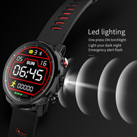 L5 Bluetooth Smart Watch IP68 Waterproof Multiple Sports watch Heart Monitor Rate Weather Forecast Smartwatch for iOS Android