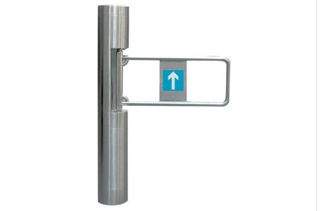 wheelchair pass gates full automatic swing barrier for pedestrian access control/swing turnstile/motorized barrier turnstile