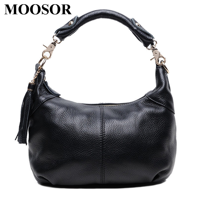 Фотография New Arrival Genuine Leather Women Bags Crossbody Bags High Quality 5 Colors Fashion Female Shoulder Bags Zipper Handbags HB11