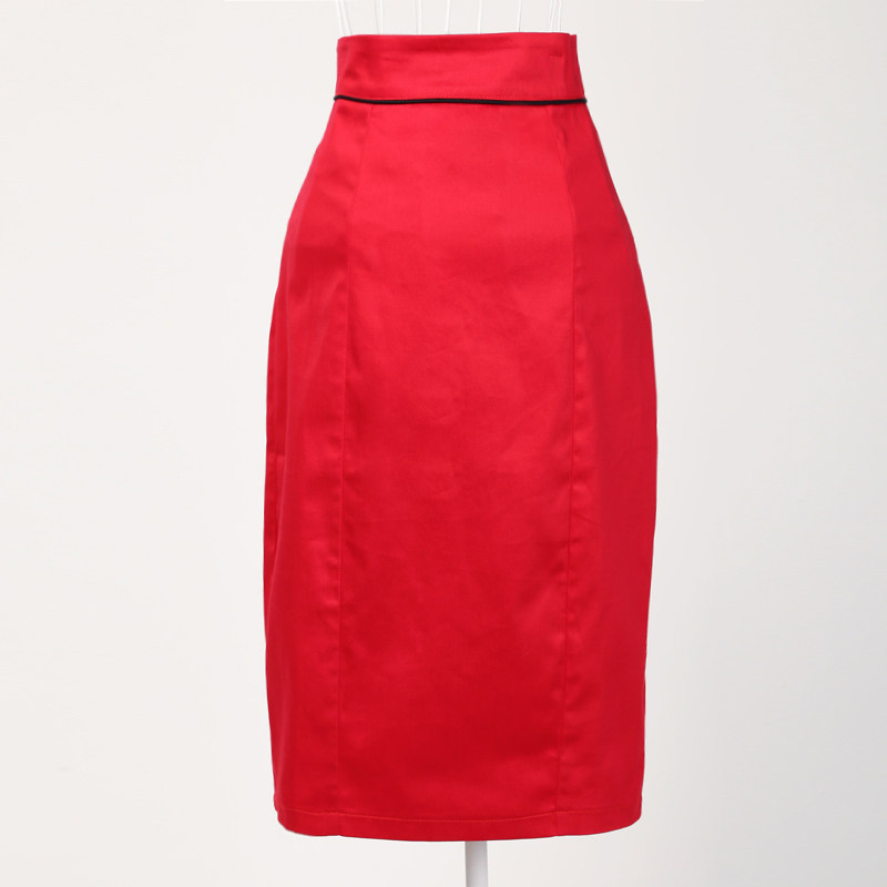 50s 60s Style Retro Inspired Vintage Designs High Waisted Red Skirt Pencil  Women s Pinup Clothes Online 4b2fb90ba