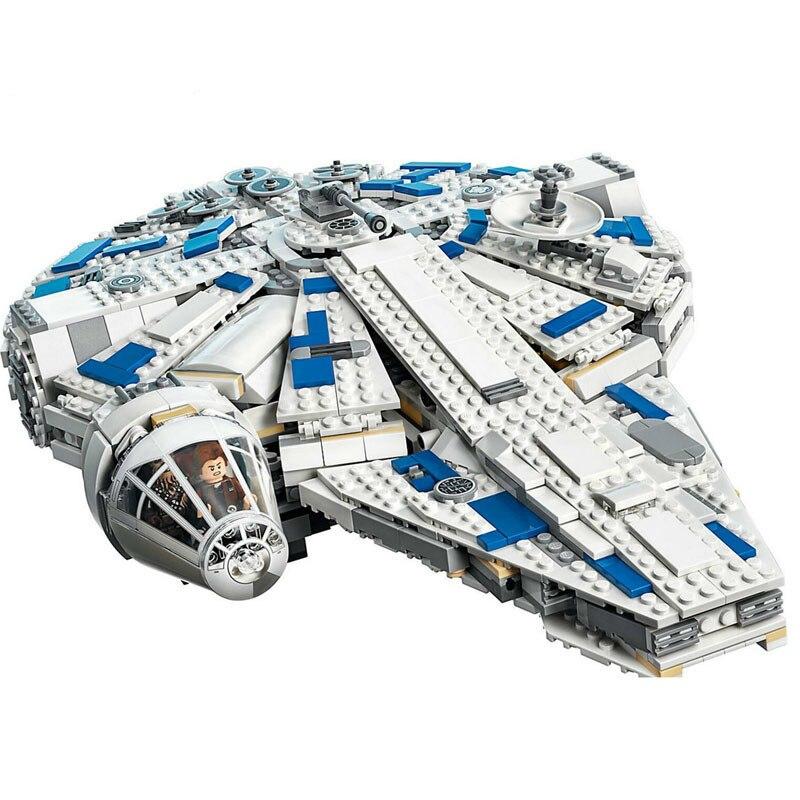 05142 1584pcs Star Series Wars Force Awakens Millennium Legoe 75212 Falcon Model Building Blocks Toys for Kids Christmas Gift