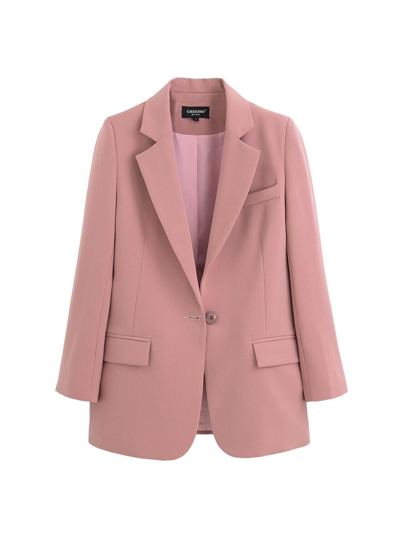 Moyen Hong Loisirs Pour Sac 2019 Rose Petit Mujer Veste Coréenne Saveur Version Blazer De En Vente Vadim Kelly Costume Rétro Kong OS7Fq