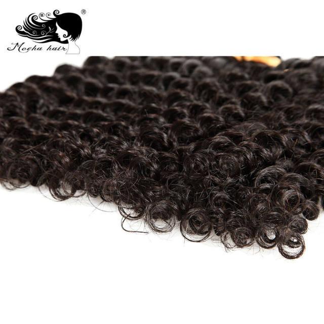Online Shop Mocha Hair Deep Wave Brazilian Remy Hair Extension
