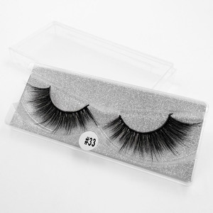 Image 4 - SHIDISHANGPIN 1 pair mink eyelashes  false eyelashes 3d false lashes 3d mink lashes false lashes mink 3d lashes faux cils