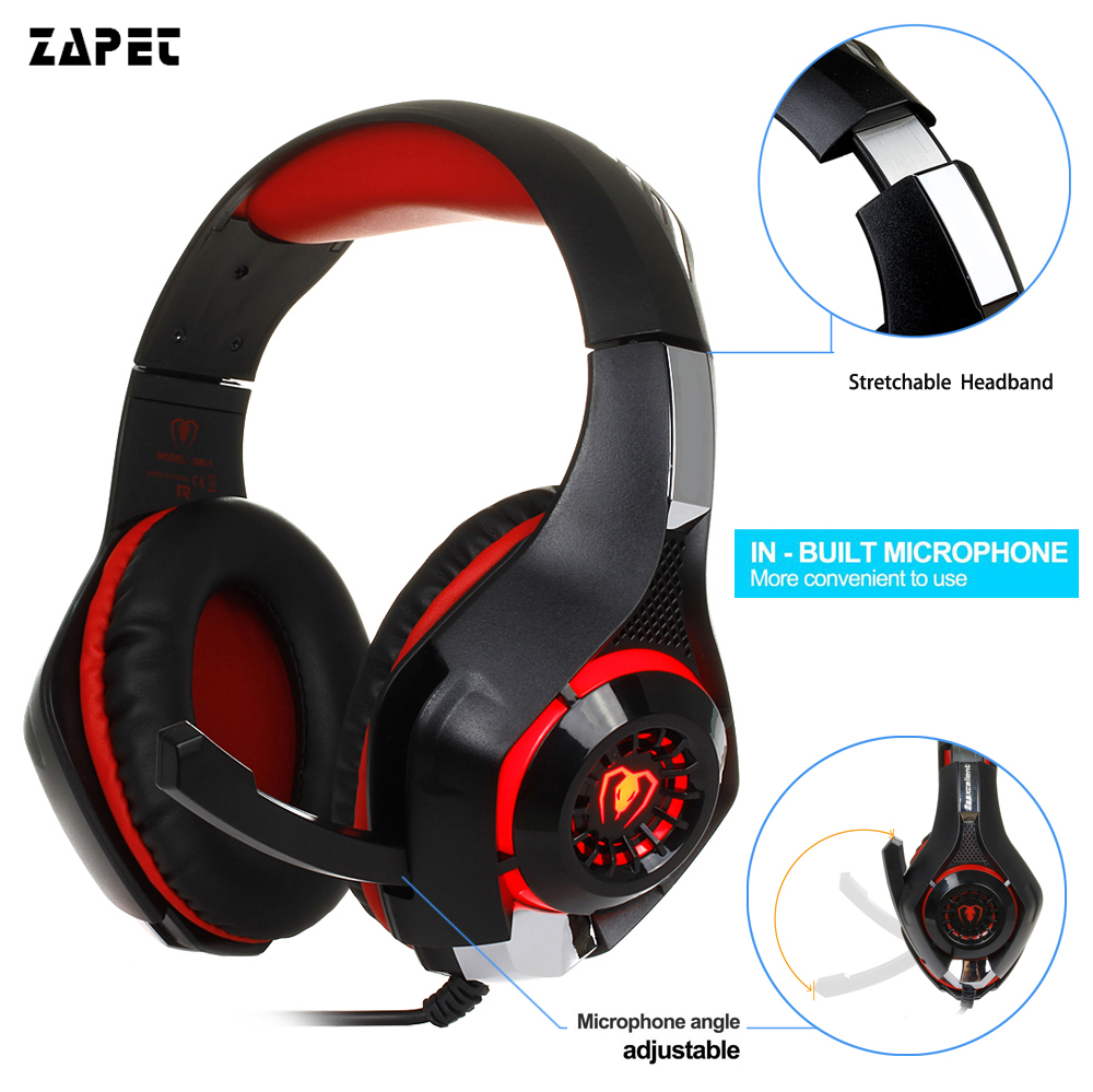 3.5mm Gaming headphone Earphone Gaming Headset Headphone Xbox One Headset with microphone for pc ps4 playstation 4 laptop phone 3 5mm wired headphone game gaming headphones headset with microphone mic earphone for ps4 sony playstation 4 pc computer hot