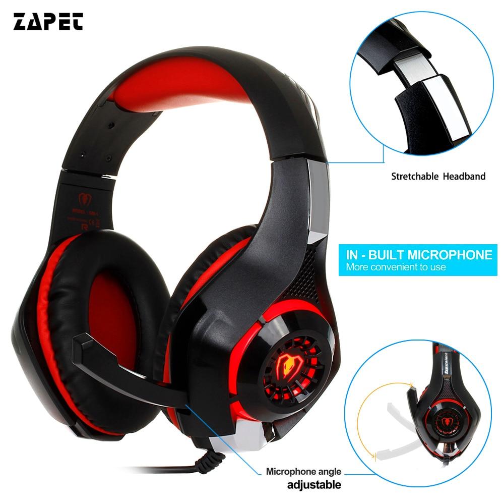 3.5mm auriculares de Juegos de auriculares Gaming Headset Auriculares ps4 playstation Xbox Auricular con micrófono para pc 4 teléfono portátil