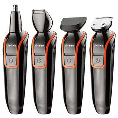 6in1 set electric hair clipper rechargeable hair trimmer precision body shaver trimer beard mustache facial hair cutting machine