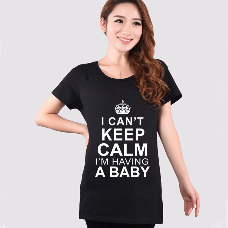 Lato Macierzyński Słodkie Funny T Koszula Gorący Czerwony Szary Nakrywa Trójniki Ubrania Dla Kobiet W Ciąży Ciąża Wear Odzież Plus Rozmiar XXL 2015 5