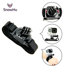 Gopro Accessories 360 Degree Rotation Hand Wrist Strap Band  for Hero 4 3+ Xiaomi Yi SJ4000 sj5000 sj6000 LD09
